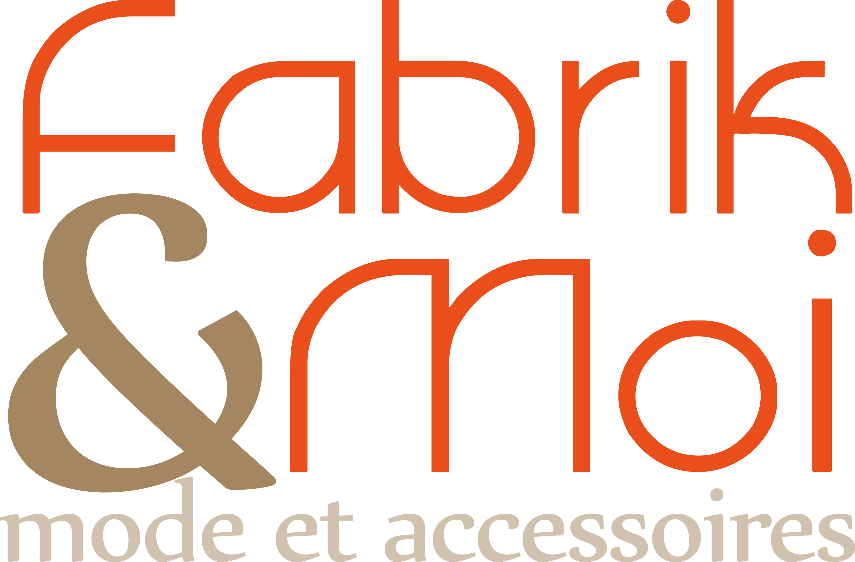 Fabrik&Moi| Création | Logo vectoriel