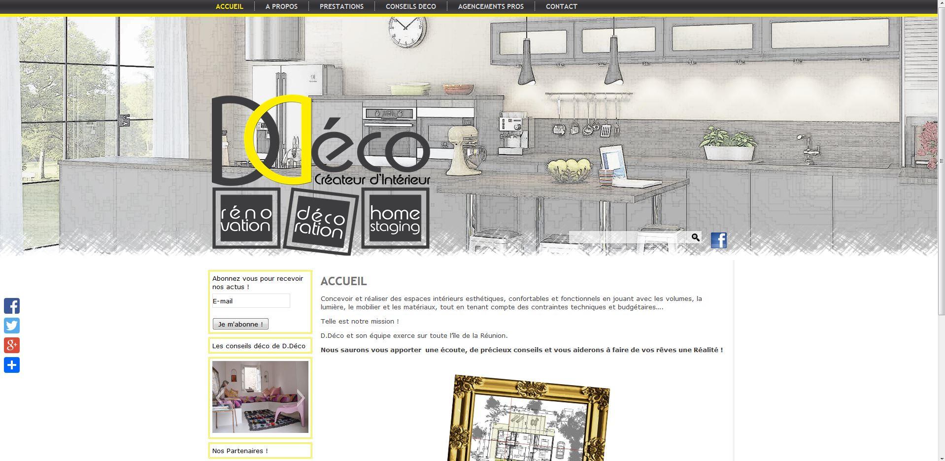 D.Déco| Relooking | Site web (en cours)
