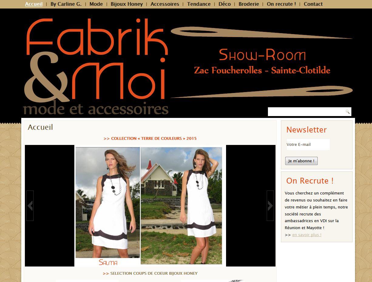 Fabrik&Moi| Création site web
