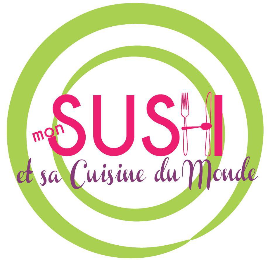 Mon Sushi| Relooking | Logo vectoriel