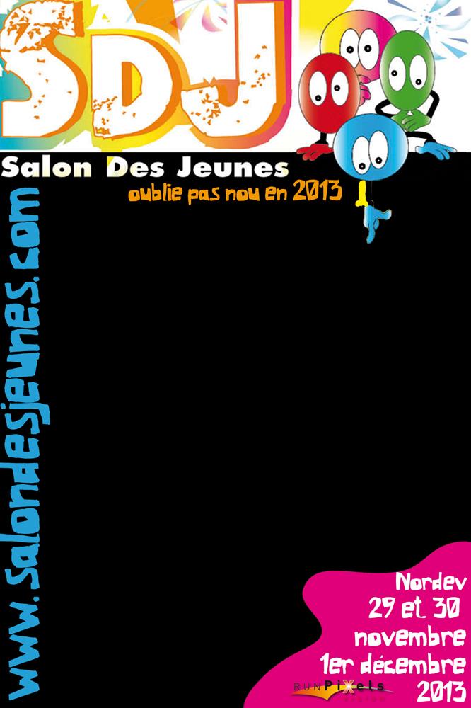 Salon des Jeunes 2013 | Sticker ardoise