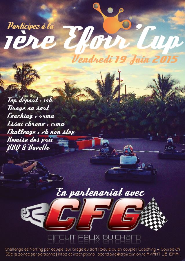 Efoir'Cup| Conception | Affiche A3