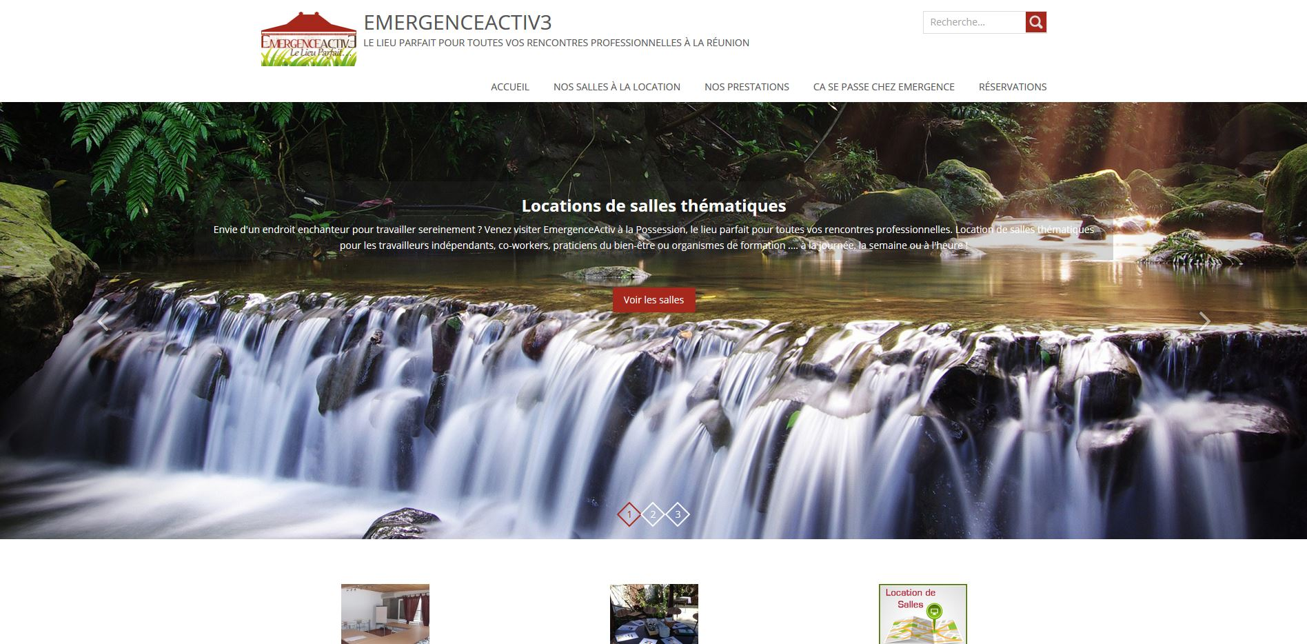 EmergenceActiv3| Webdesign site web V2