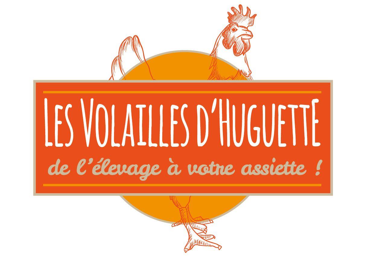 Volailles d'Huguette | Création | Logo vectoriel
