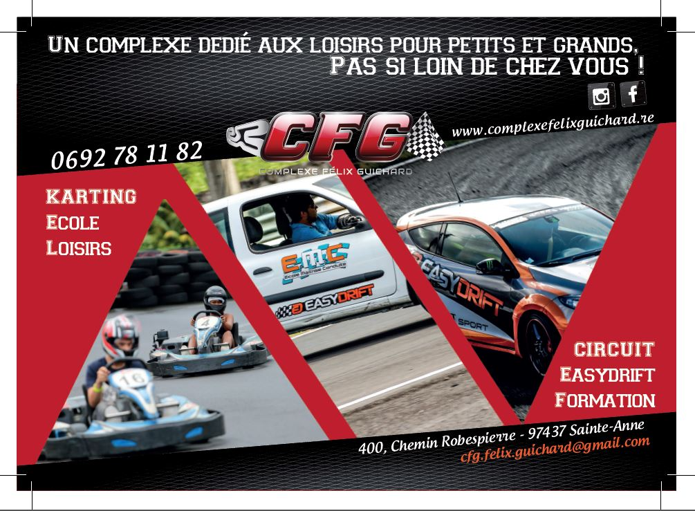 Complexe Félix Guichard| Conception | Flyer