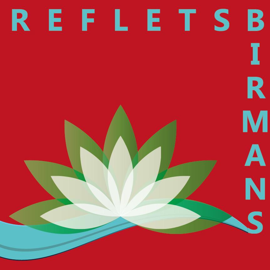 Reflets Birmans| Création| Logo vectoriel