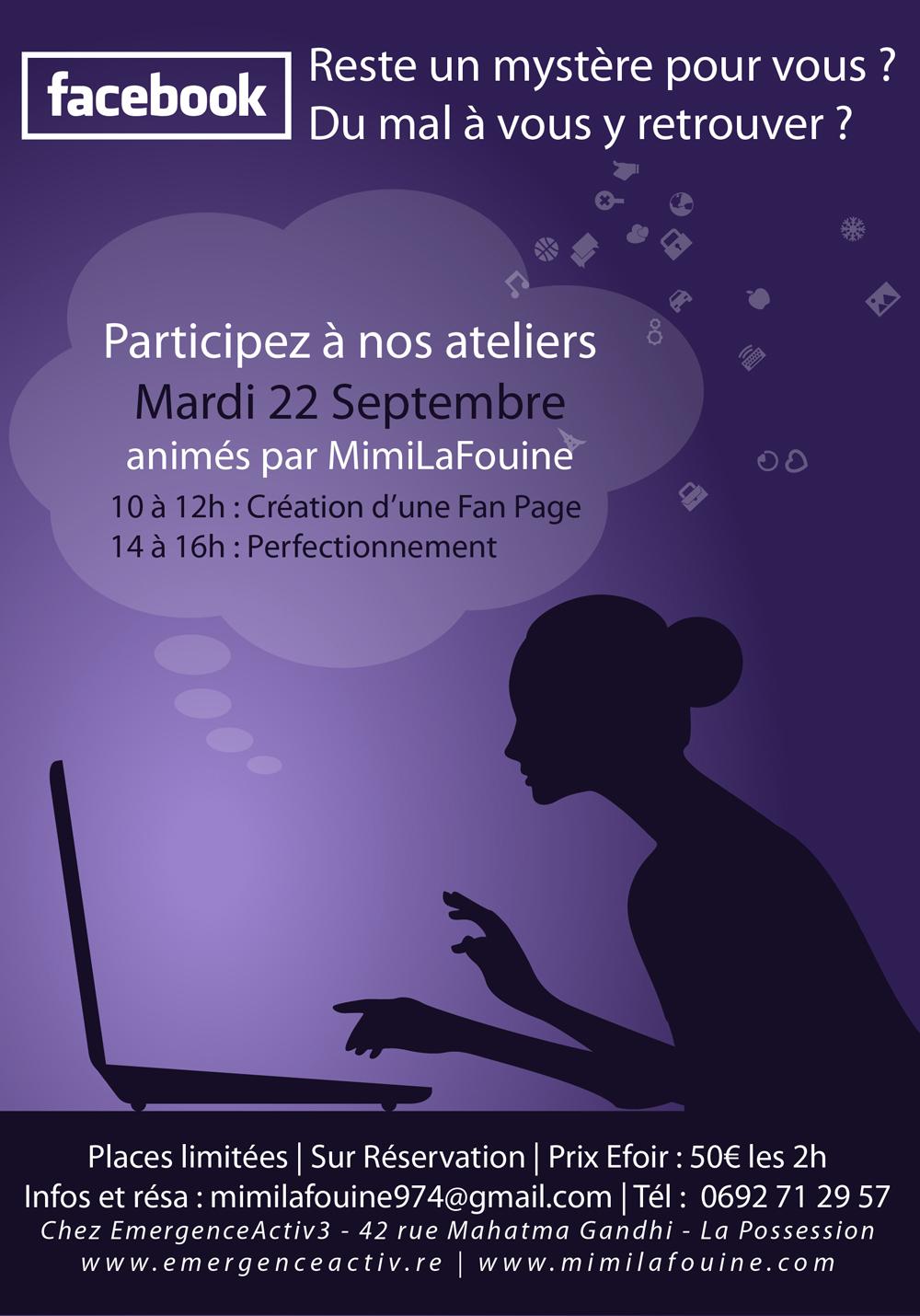 Ateliers Facebook| 22 septembre 2015