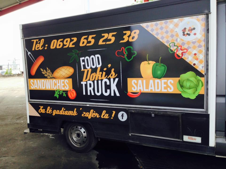 Food Doki's Truck| PAO Stickers | Habillage camion