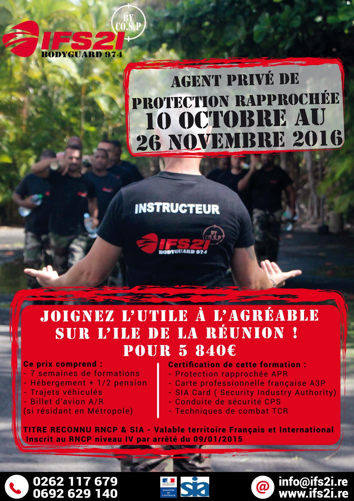 IFS2i Réunion| PAO| Affiche