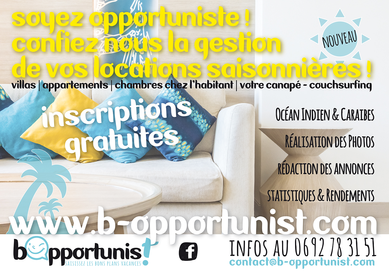 bOpportunist | Conception | Flyer A5
