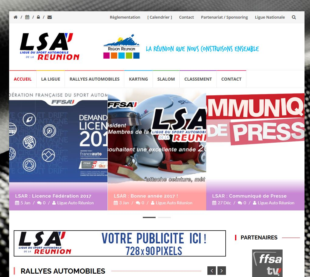 LSA REUNION | Création | Site Web