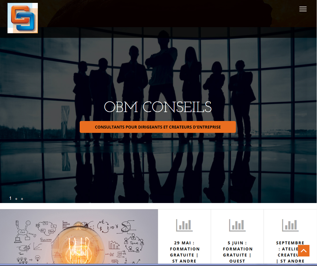 OBM Conseils | Relooking | Site Web