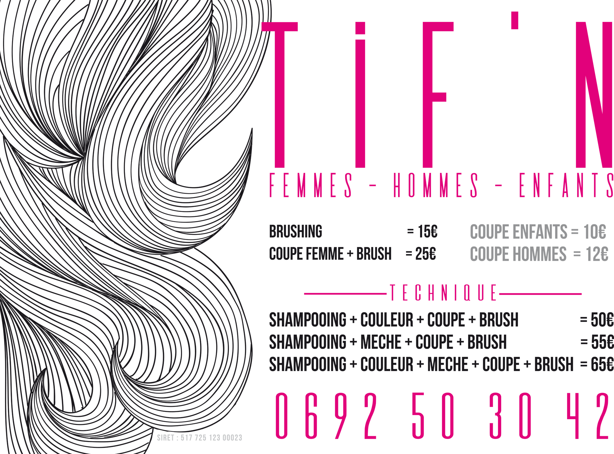 TIF'N | Flyer | Création