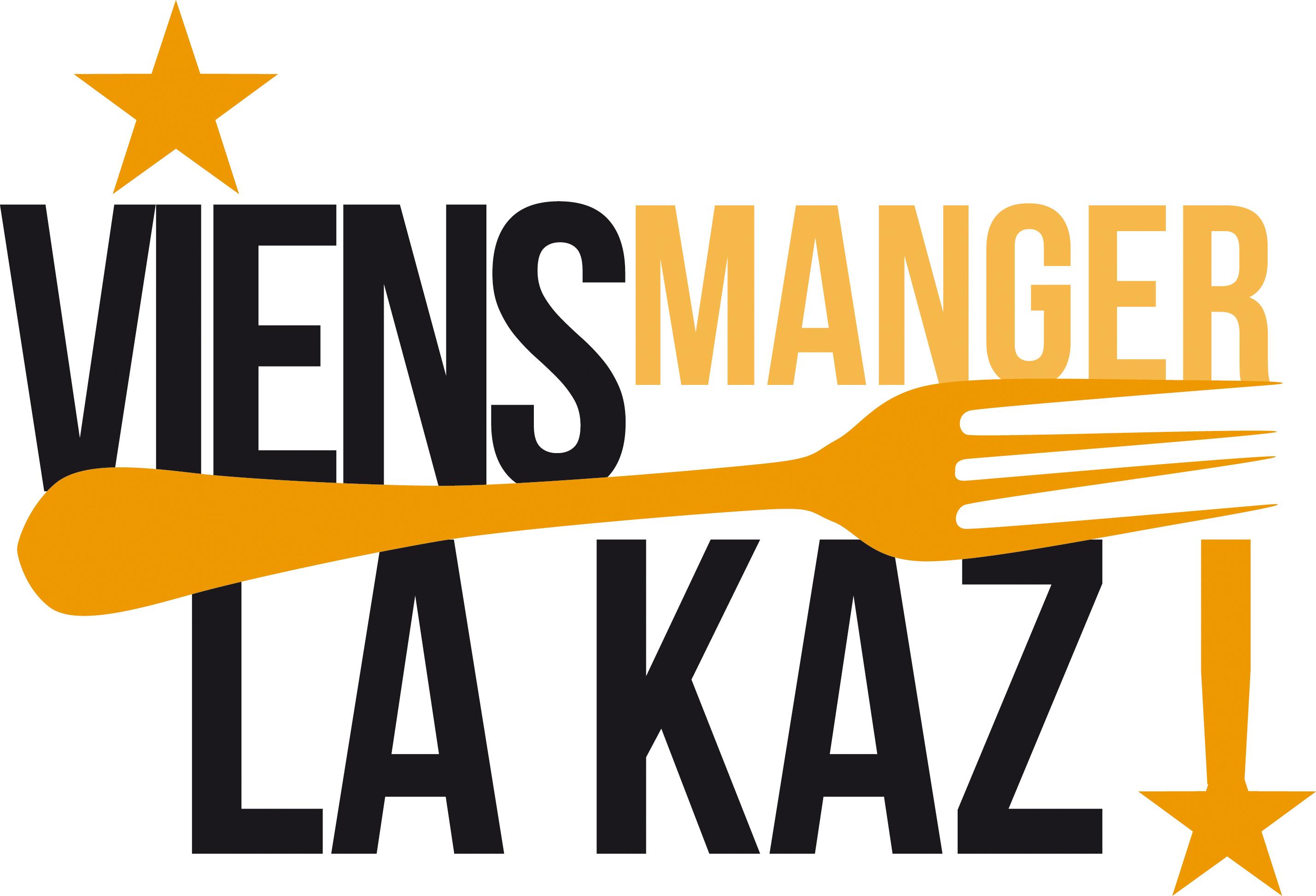 Viens Manger La Kaz | Logo | Création