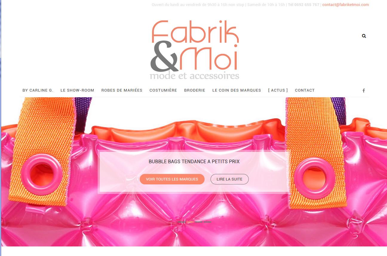 Fabrik&Moi | Relooking | Site Web