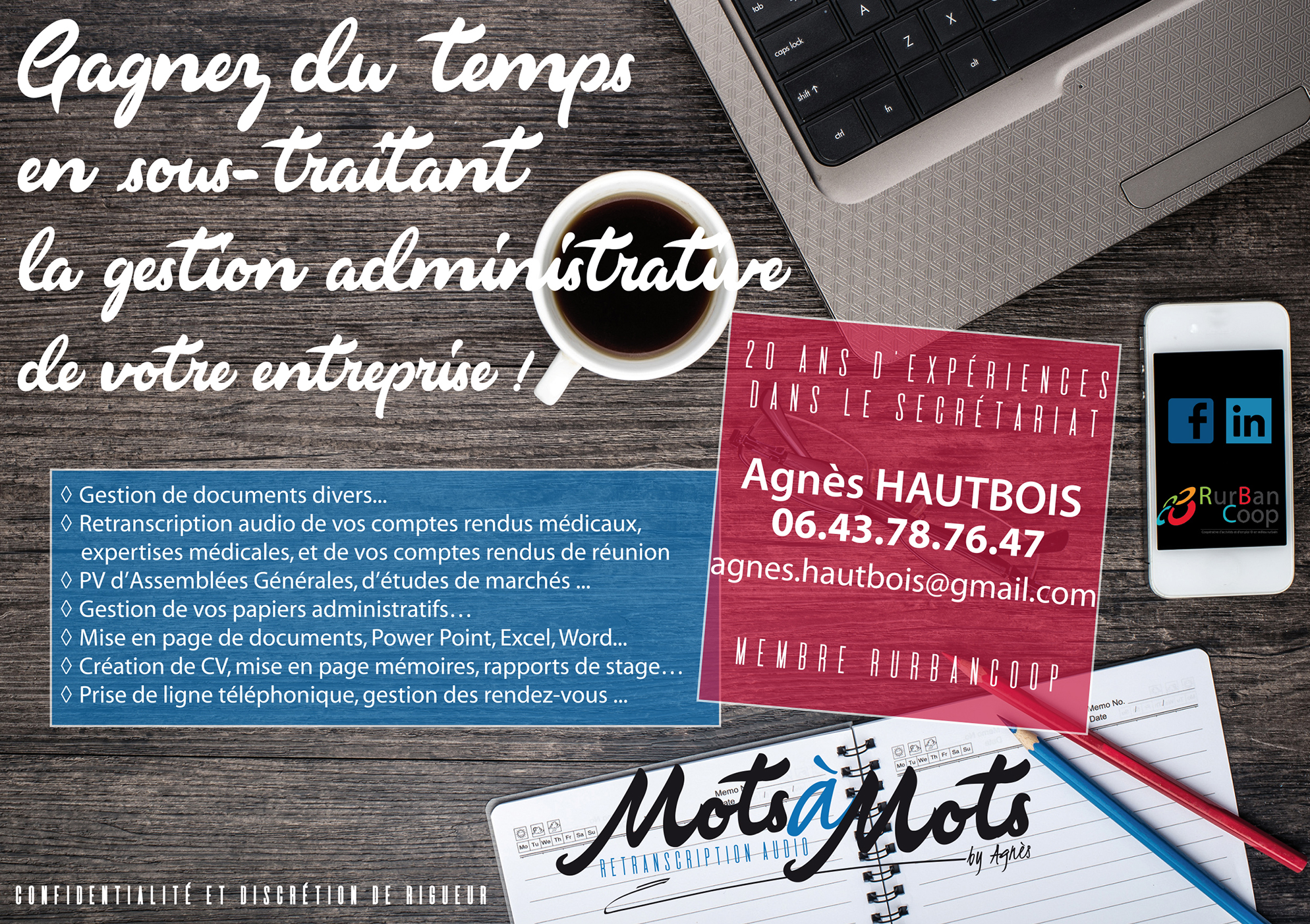 Mots à Mots | Flyer | Conception