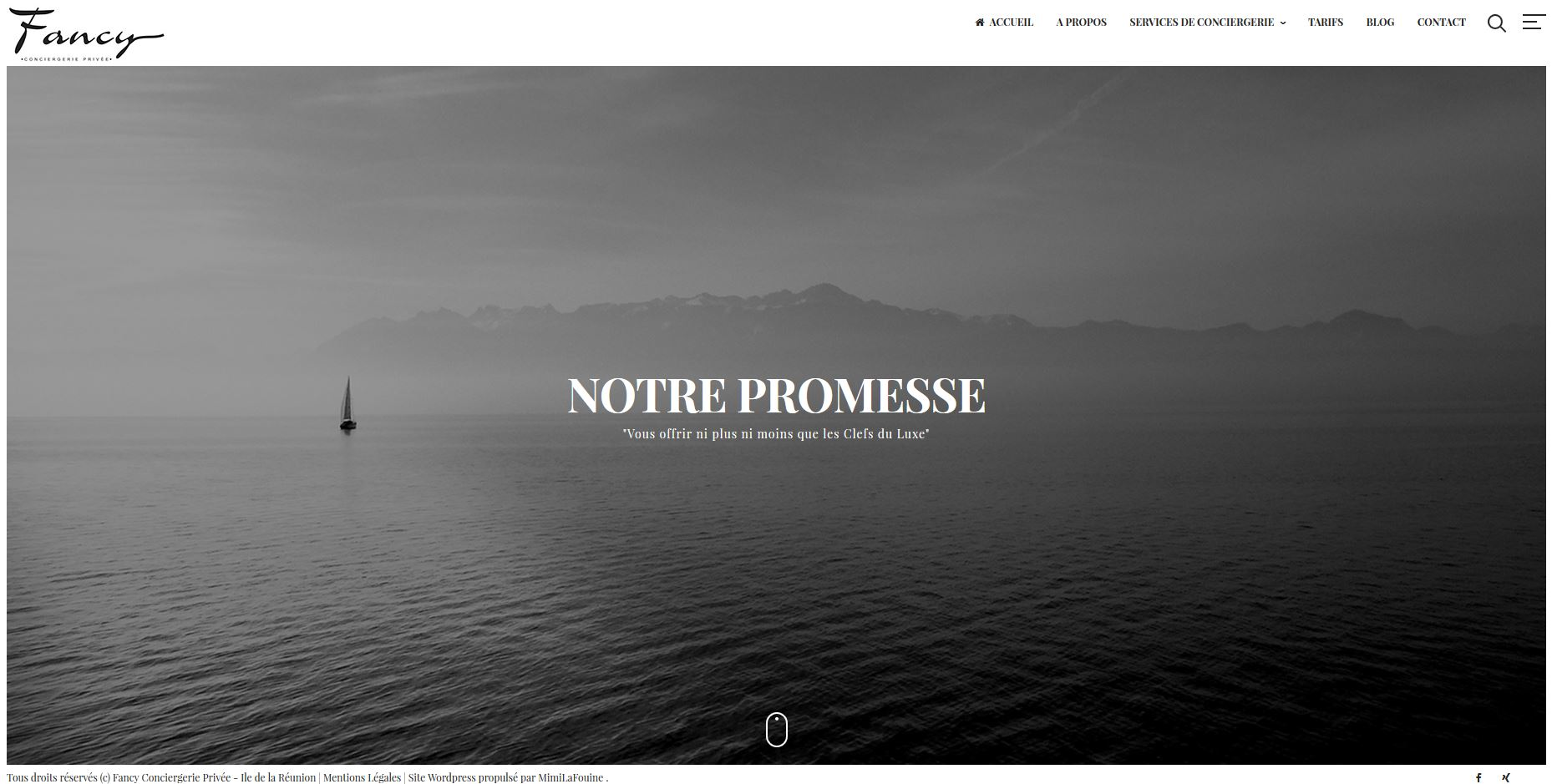 Fancy Conciergerie | Relooking | Site Web