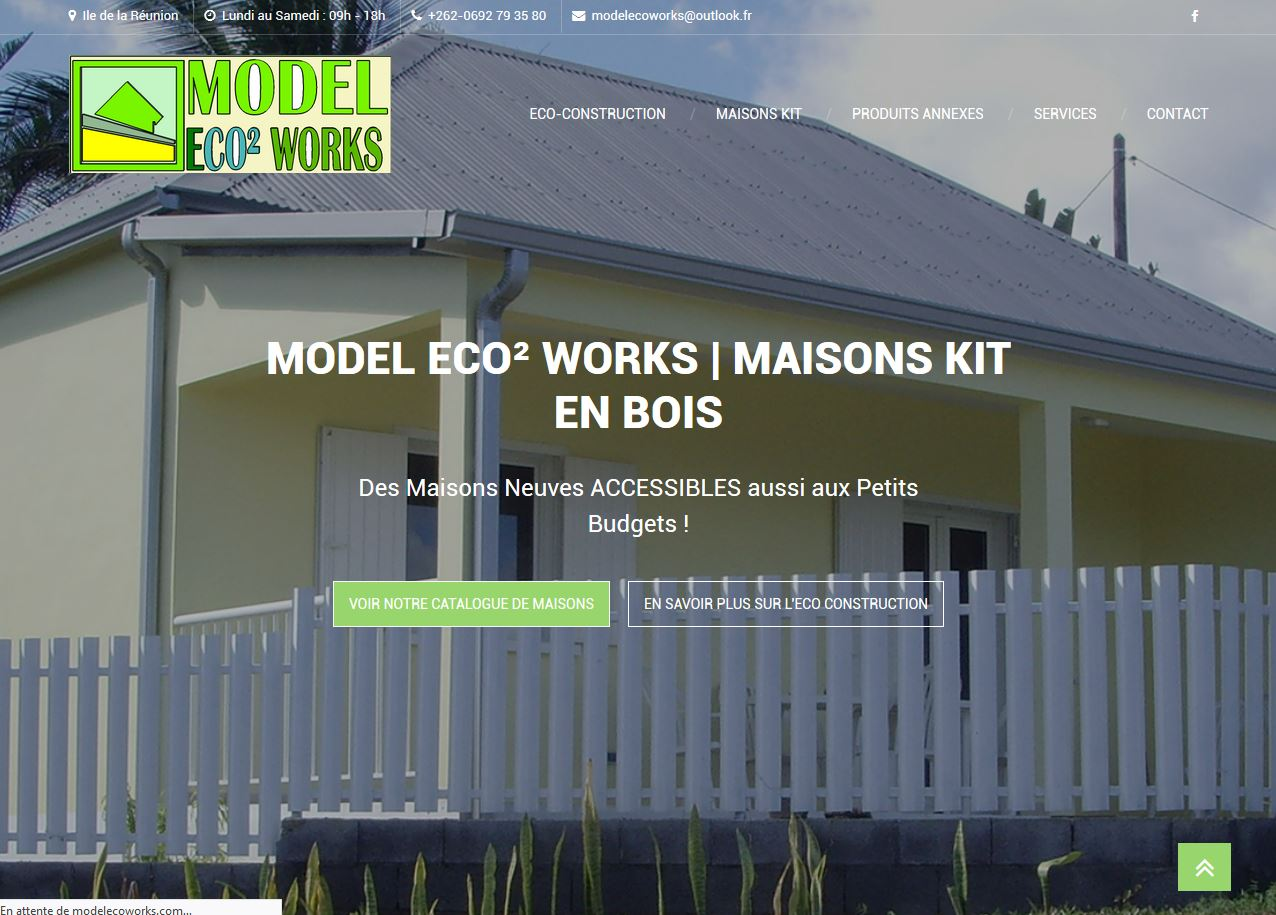 Model Eco² Works | Site Internet | Création