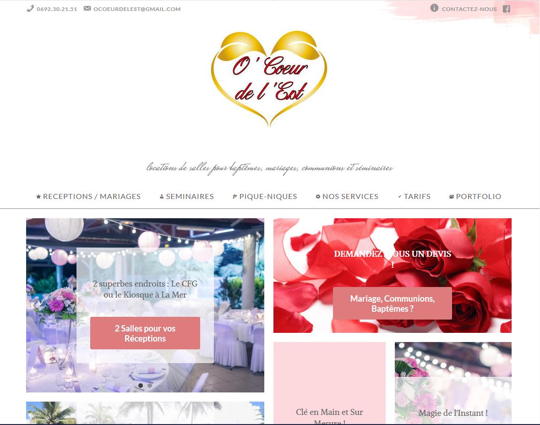 O'Coeur de l'Est | Site Vitrine | Création