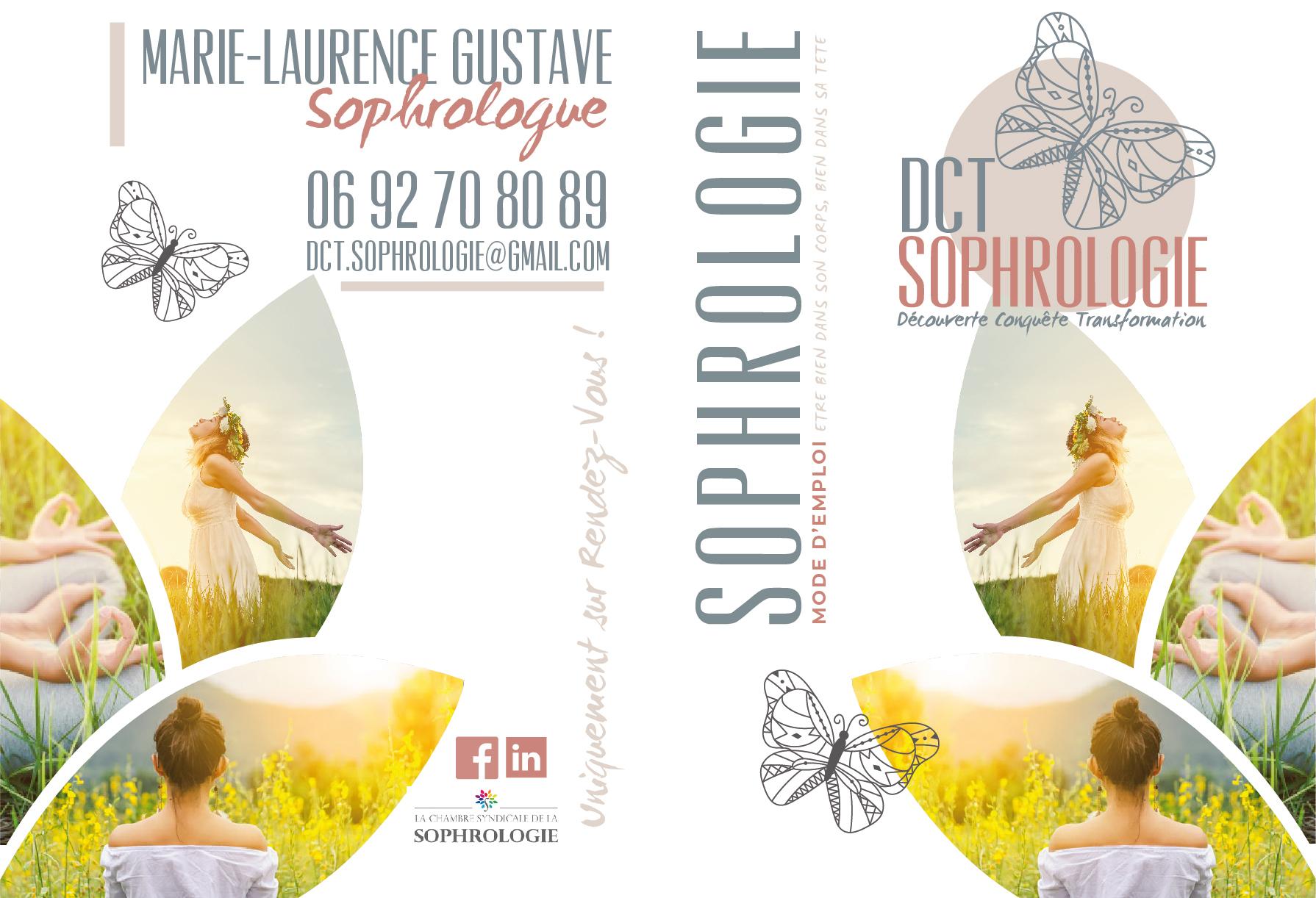 DCT Sophrologie | Logo, Cartes de Visite, Plaquette | Conception PAO