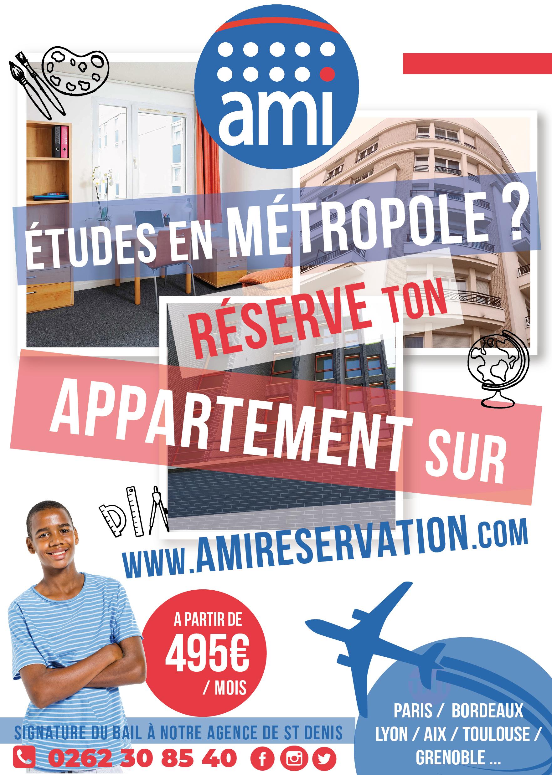 AMI Réunion| Affiche A3 | Conception