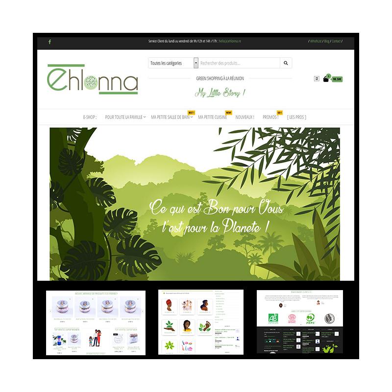 Ehlonna.re | Site Marchand | Création