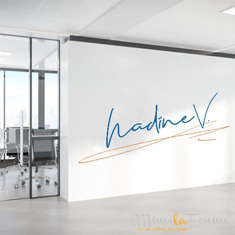 Nadine V. | Logo | Création