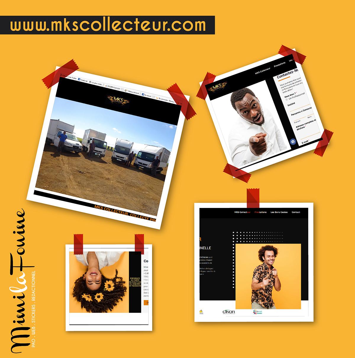 MKS Collecteur | Site Vitrine | Création