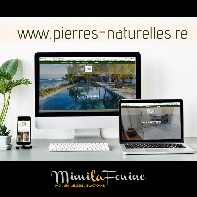 Nature Energy | Site Vitrine | Relooking