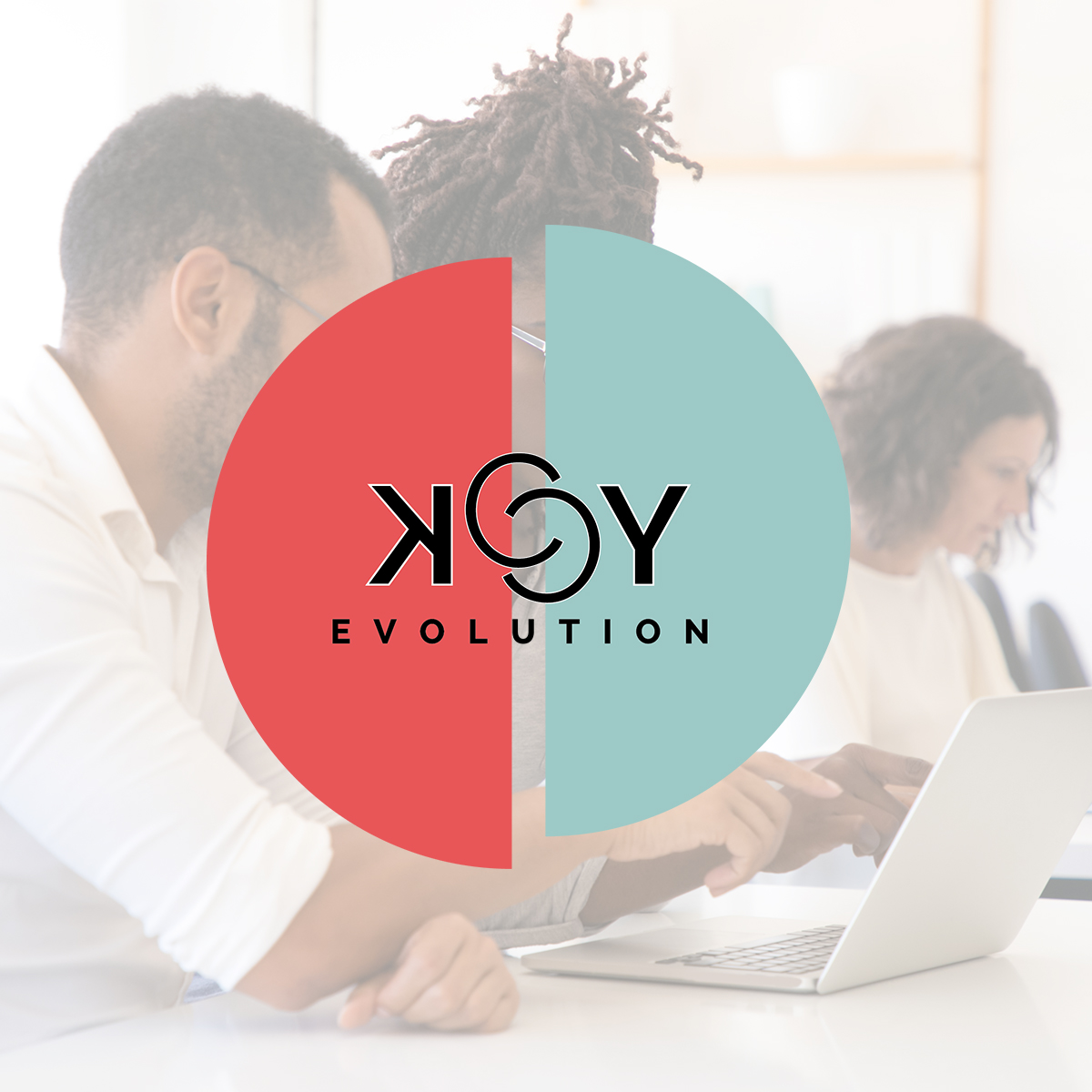 KCY Evolution | Logo & Flyer | Création
