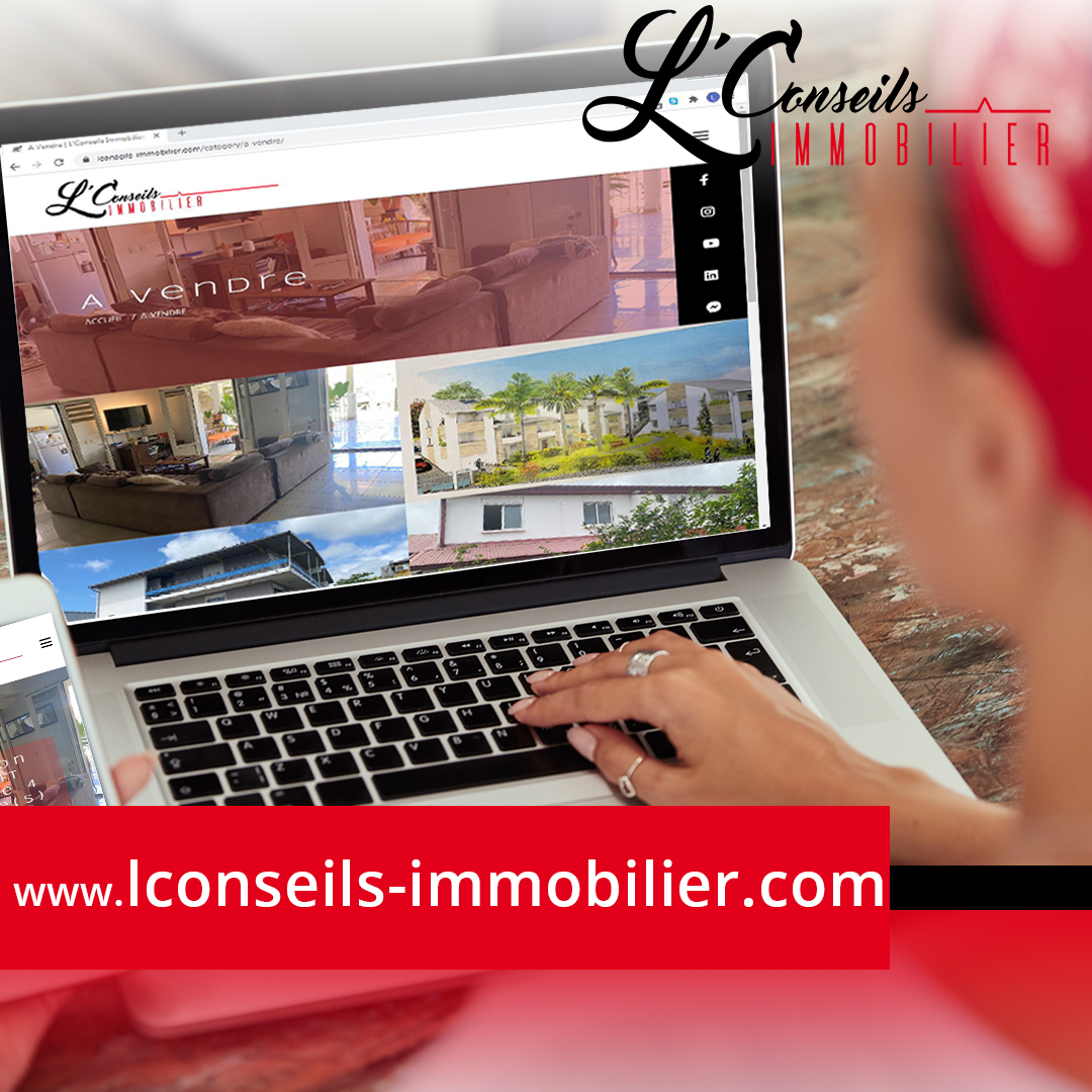 L'Conseils Immobilier | Site Immo | Création
