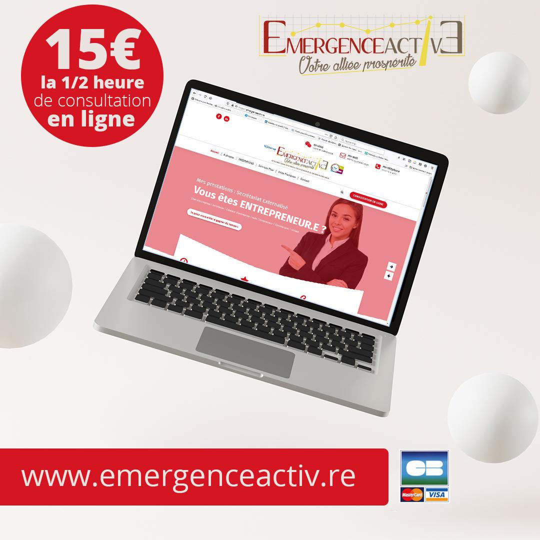 EmergenceActive | Réservations en ligne | Refonte